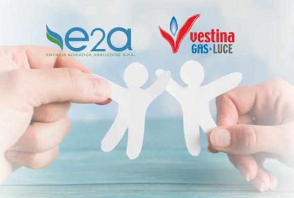 Dal 1°ottobre E2A energia adriatica abruzzese confluisce in Vestina Gas & Luce